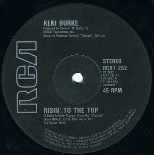 Keni Burke ‎- Risin' To The Top [RCA:1982]