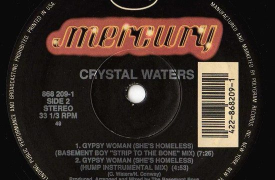 Crystal Waters ‎– Gypsy Woman (She's Homeless) [Mercury:1991]