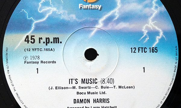 Damon Harris – It's Music [Fantasy:1978]