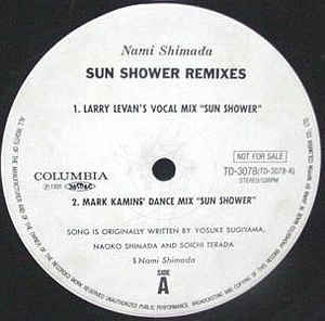 Nami Shimada – Sun Shower [Columbia:1991]