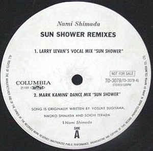 Nami Shimada – Sun Shower [Columbia:1991]