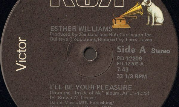 Esther Williams – I'll Be Your Pleasure [RCA Victor:1981]