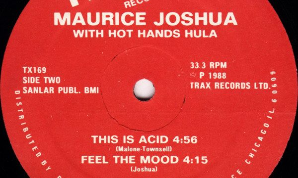 Maurice – This Is Acid [Trax Records:1988]