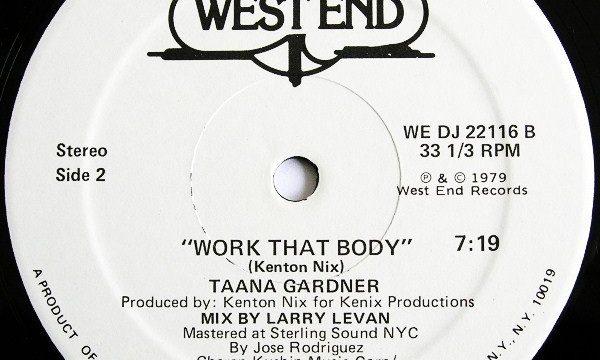 Taana Gardner – Work That Body [West End Records:1979]