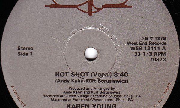 Karen Young – Hot Shot [West End Records:1978]
