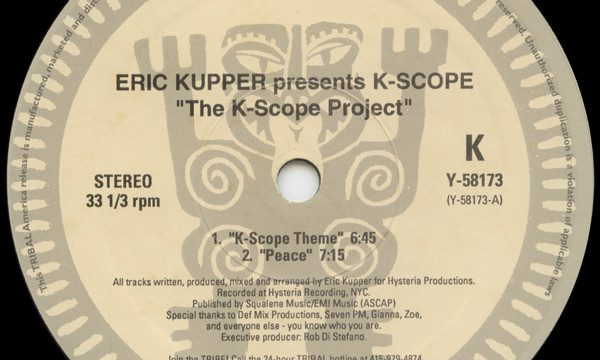 Eric Kupper Presents K-Scope – The K-Scope Project [Tribal America:1994]