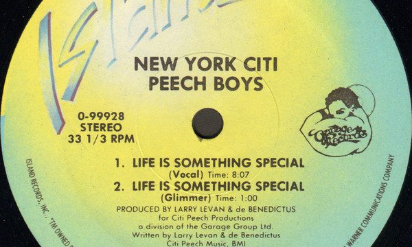 Peech Boys – Life Is Something Special [Island Records:1982]
