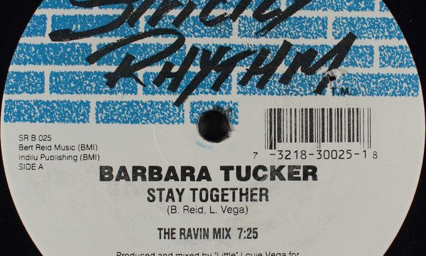 Barbara Tucker – Stay Together [Strictly Rhythm:1995]