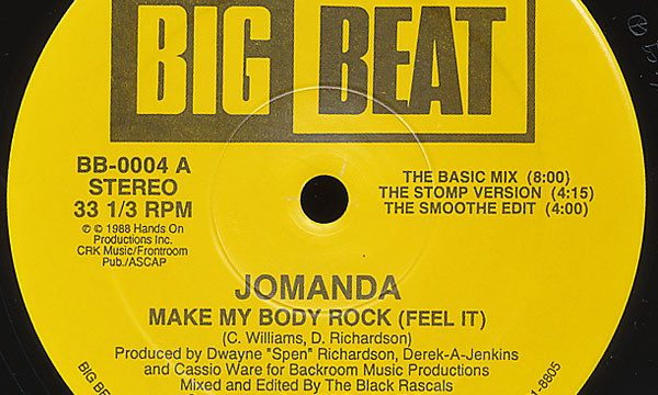 Jomanda – Make My Body Rock [Big Beat:1988]
