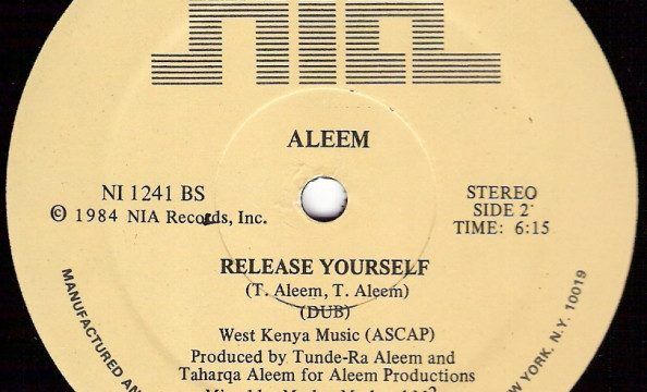Aleem – Release Yourself [NIA Records:1984]
