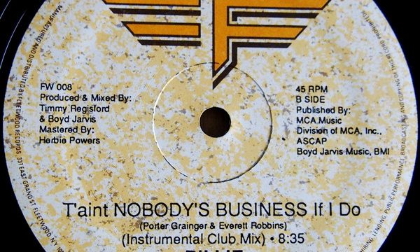 Billie – Nobody's Business [Fleetwood Records:1986]