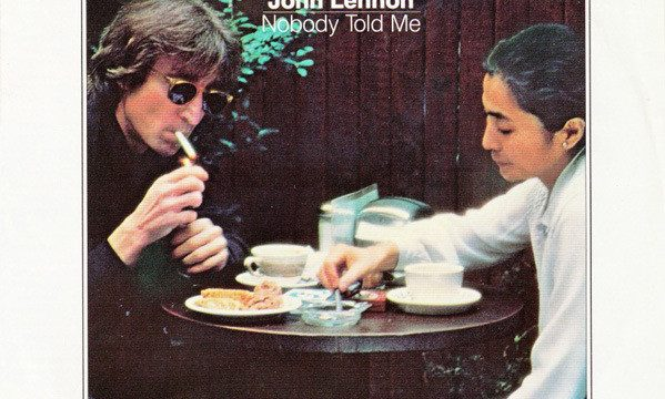John Lennon – Nobody Told Me [Polydor:1983]