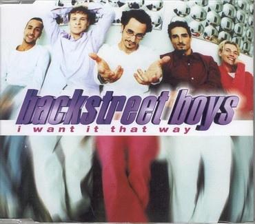 Backstreet Boys – I Want It That Way [Jive:1999]