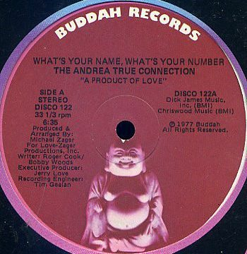 Andrea True Connection – What's Your Name What's Your Number [Buddah Records:1977]