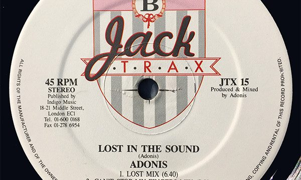 Adonis  – Lost In The Sound [Jack Trax:1989]